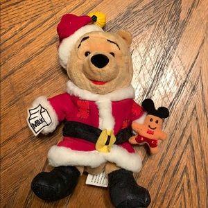 Santa Winnie the Pooh plushy